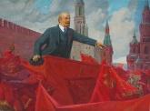 Сидоров А. Е. Выступление Ленина  118-159 х.м. 76г 1,5.JPG