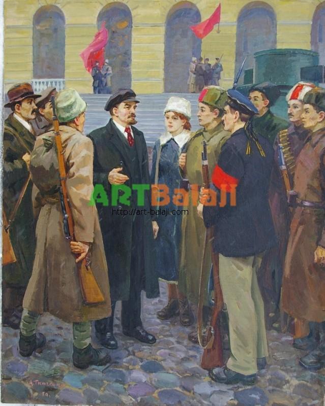 Artist : Ткаченко А. Ленин 150-120 х.м. 80г 1,2.JPG
