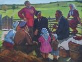 Токарев В. Ленин с крестьянами