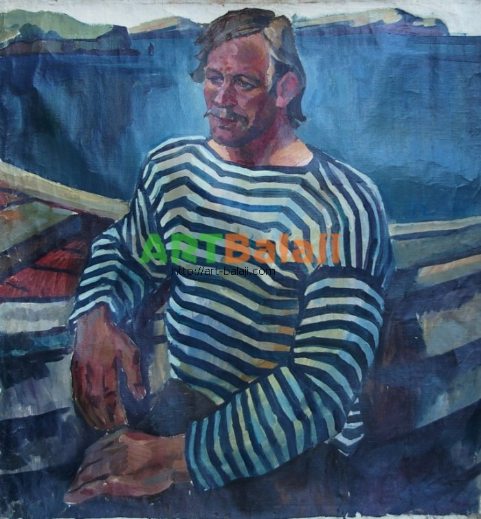 Artist : Троценко В. Пор-т 100-95 х.м. 70е 0,7.JPG