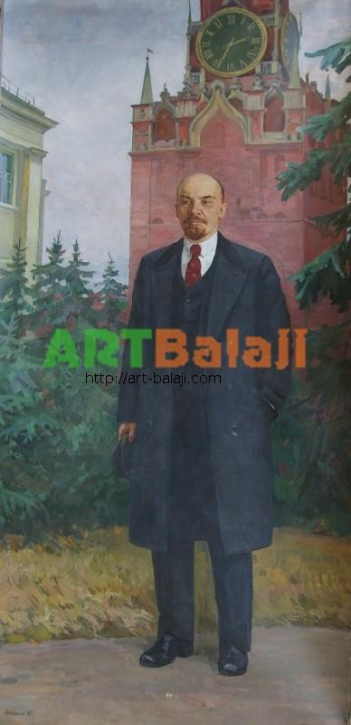 Artist : Шевченко В.И. Ленин 300-150 х.м. 85г 0.3.JPG