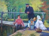 Шифман Ленин с детьми 118-158 х.м. 60е  2.5.JPG
