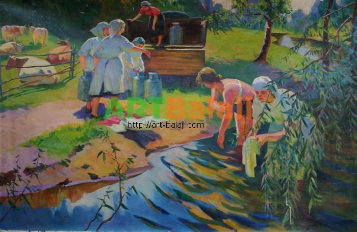 Artist : Шкурко А. Доярки 113-173 х.м. 80г.JPG