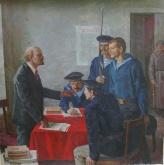 Авт.Ленин и матросы 150-150 х.м. 70е.JPG