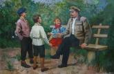 Авт.Ленин с детьми