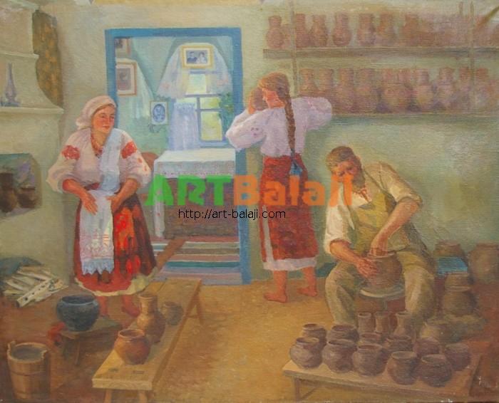 Artist : Варакута Д.Г. Гончар 85-105 х.м. 80е  0.8.JPG