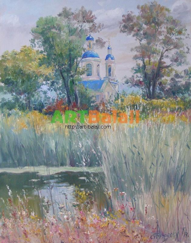 Художник Стегэреску Тудор: Благодать
