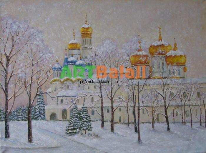 Художник : Золотые купола