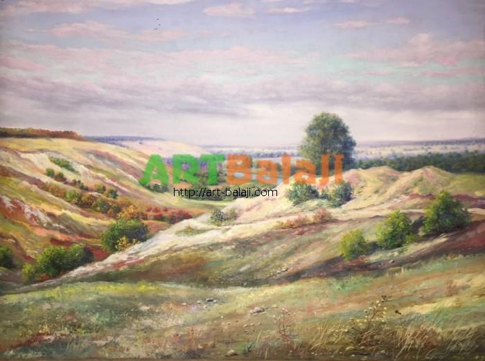 Художник Мыцык С.: Меловые холмы