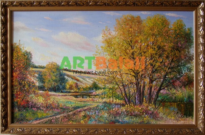 Artist : Indian summer in Lugansk region