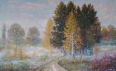 Foggy in autumn