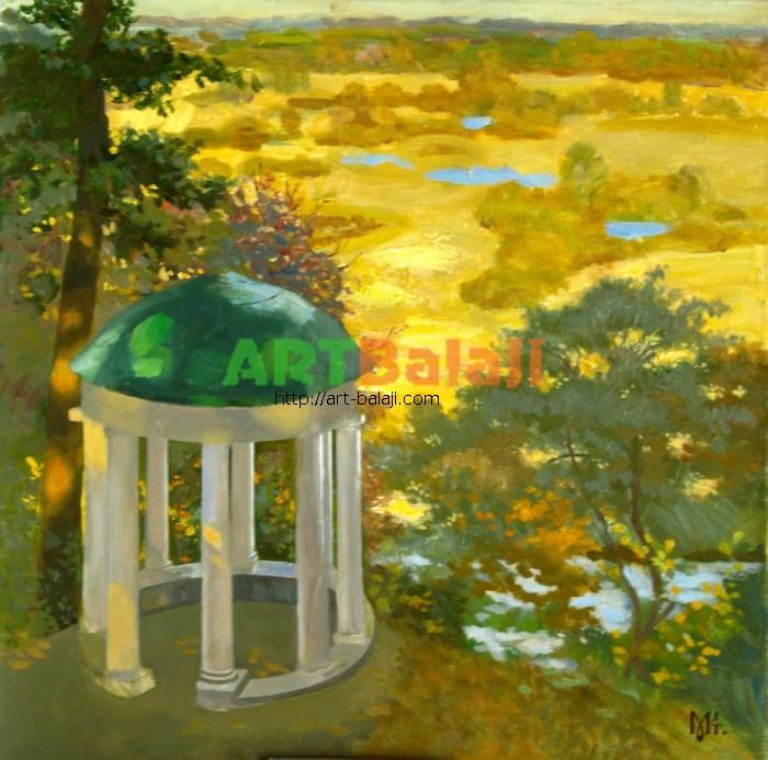 Artist Constantin Mogilevsky: Summerhouse