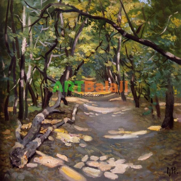 Artist Constantin Mogilevsky: Road to Khortitsa island