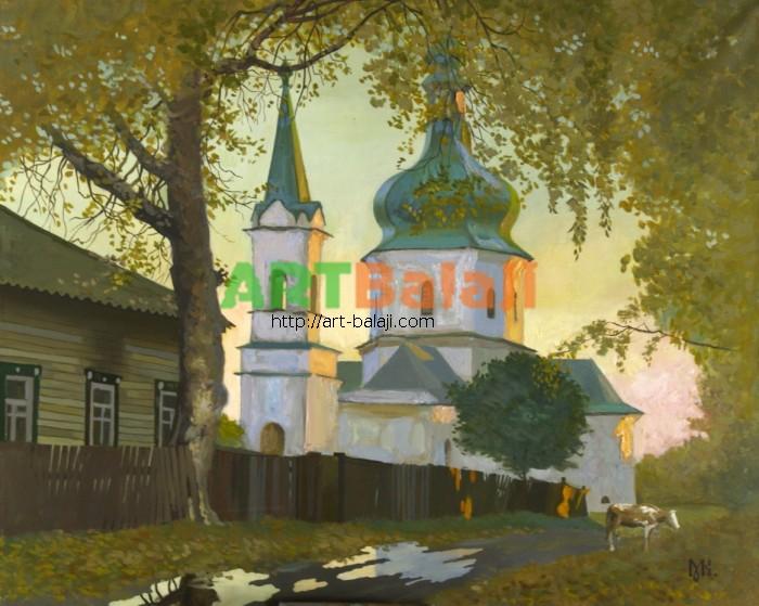 Artist Constantin Mogilevsky: Puddles