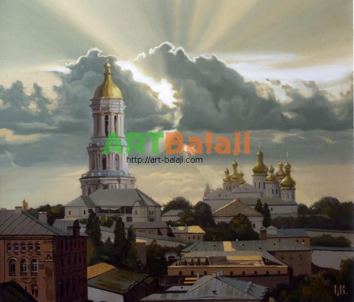 Художник Константин Могилевский: Старый Киев