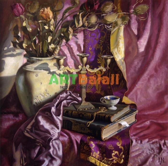 Artist Constantin Mogilevsky: Silk and velvet