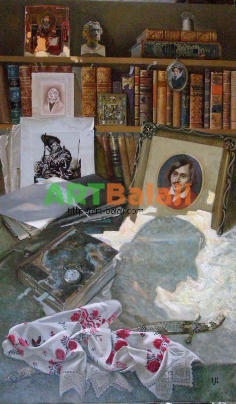 Artist Constantin Mogilevsky: Good evening, Nicholas Vasil'evich