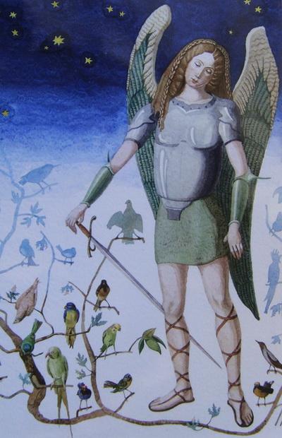 Artist Bogdan Mogilevsky: Archangel  Michael