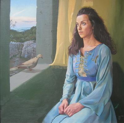 Artist Bogdan Mogilevsky: Mariya Magdalina