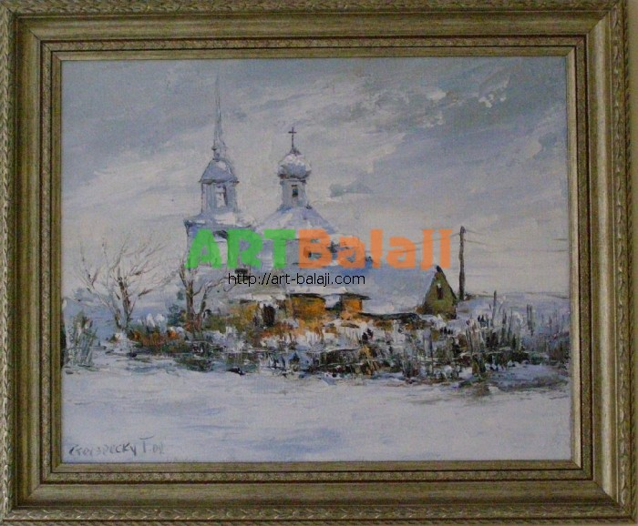 Artist Stegaresku Tudor: Church