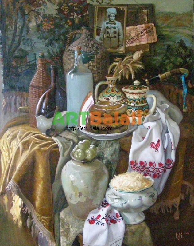 Artist Constantin Mogilevsky: Devote to Nestor Mahno