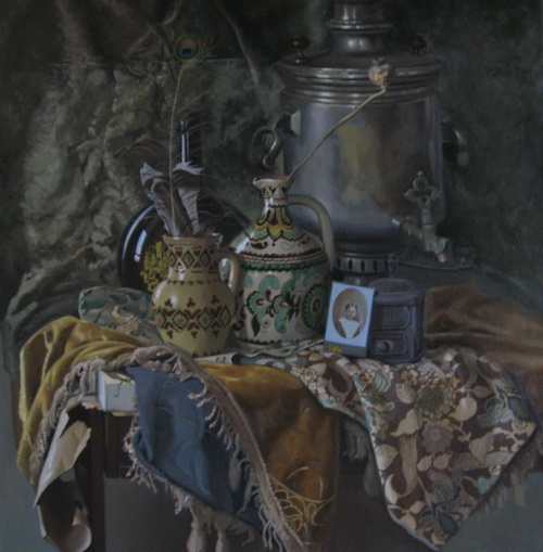 Художник Константин Могилевский: Серебро