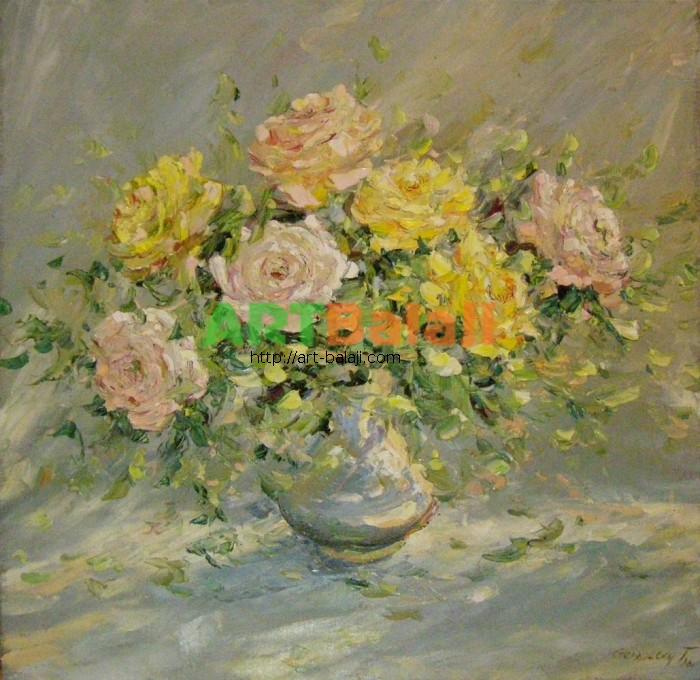 Artist Stegaresku Tudor: noon roses