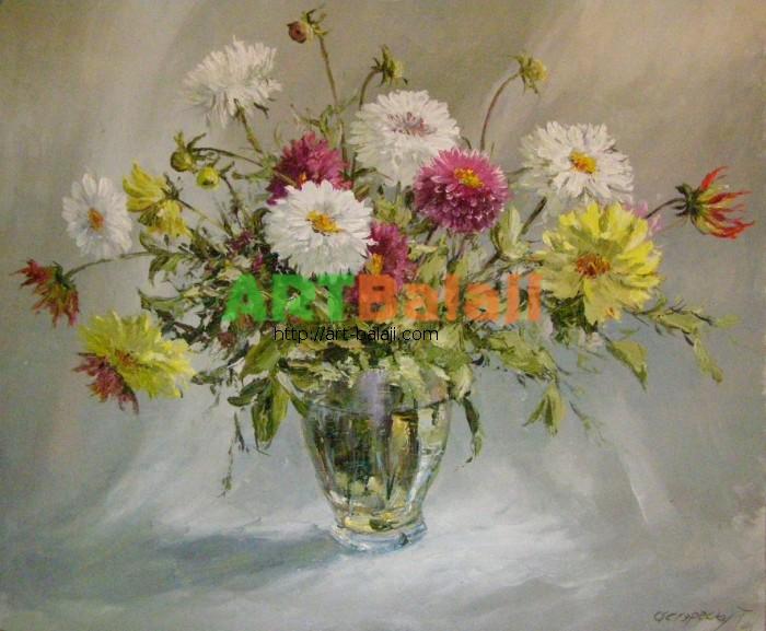Artist Stegaresku Tudor: Flowers