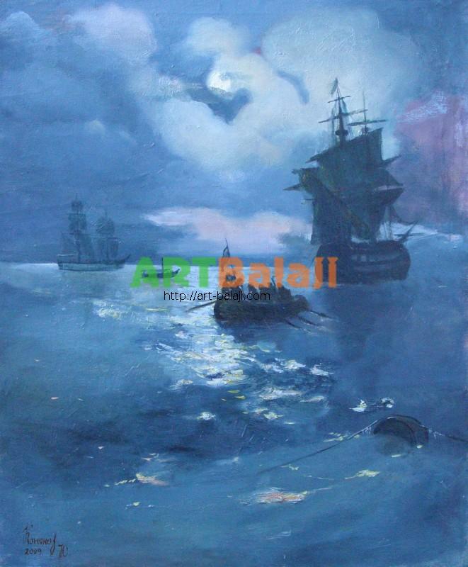 Artist Kononov Y.V.: Night-watch
