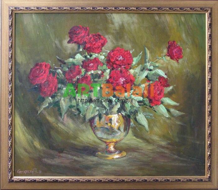Artist Stegaresku Tudor: Roses