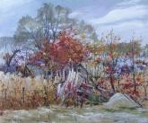 Поселок Валуйское - поздняя осень
