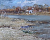 Early spring - the Seversky Donets river