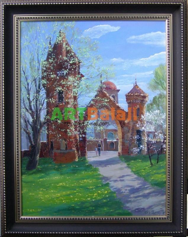 Artist Stegaresku Tudor: Manor Casimir Mtsihovskogo. Seleznivka