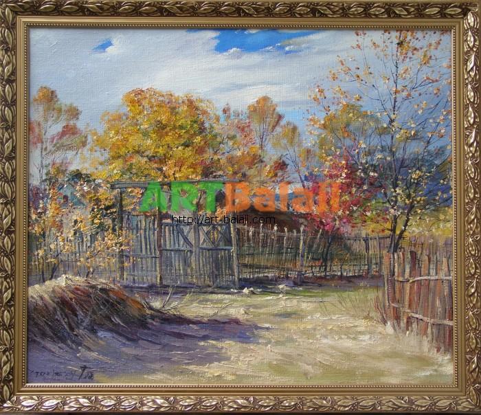 Artist Stegaresku Tudor: Autumn Kolisnykivka