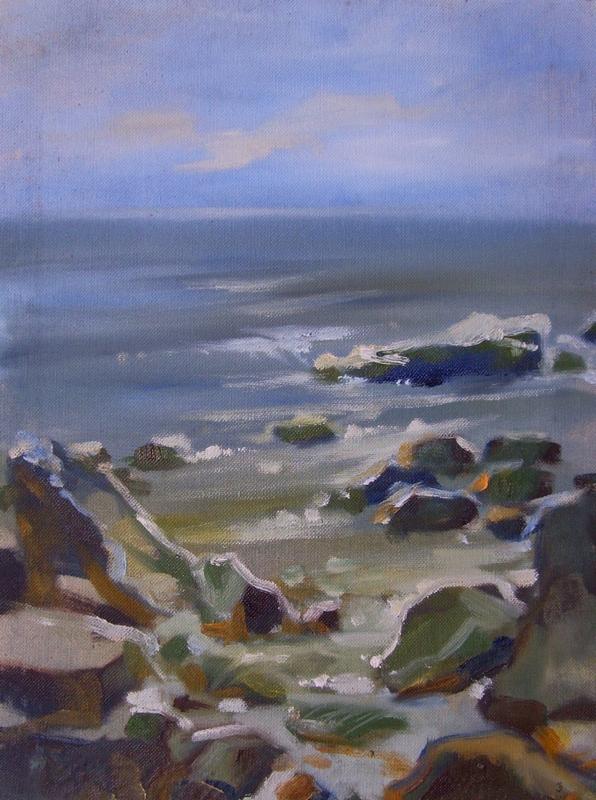 Artist Reznichenko: A sea