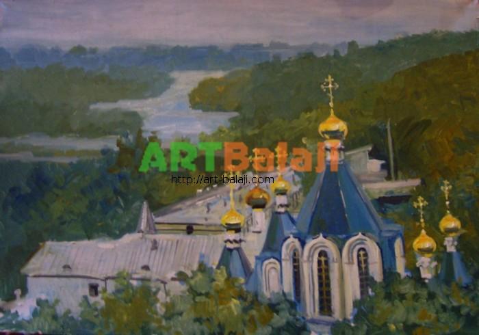 Художник Резниченко: Святые горы