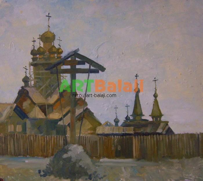 Художник Резниченко: Церковь