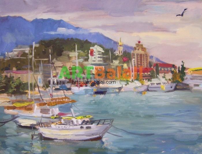 Artist Reznichenko: Yalta