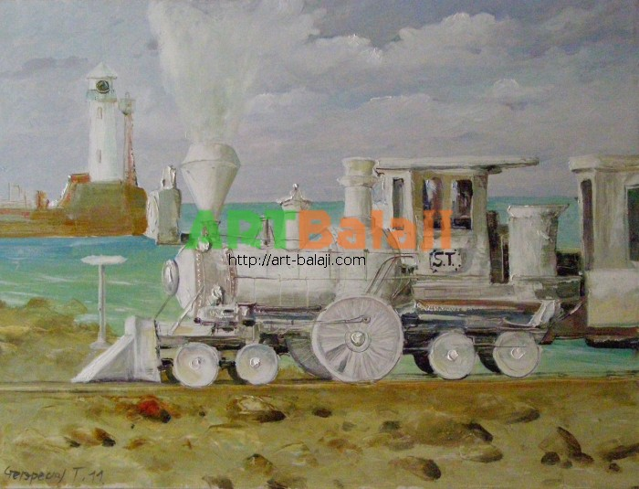 Artist Stegaresku Tudor: Lugansk-Rayovka (Oh, the white engine)