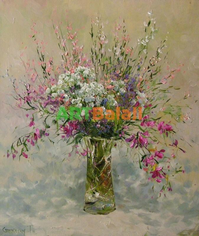 Artist Stegaresku Tudor: Wildflowers