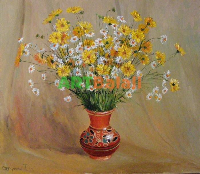 Artist Stegaresku Tudor: Daisies