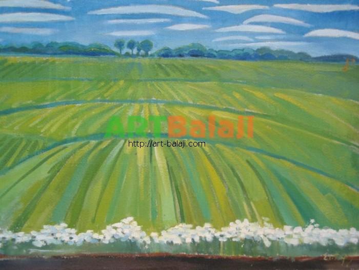 Artist Dulin Egor Vladimirovich: Buckwheat