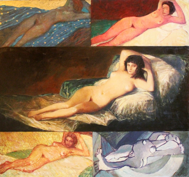 Artist Borisov: Mach Goya in time