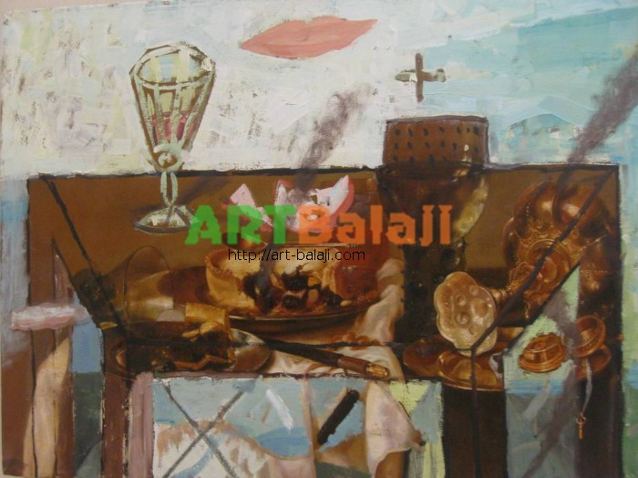 Artist Borisov: The still life
