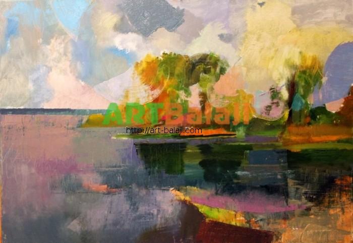Artist Gladkii Andrei: Landscape