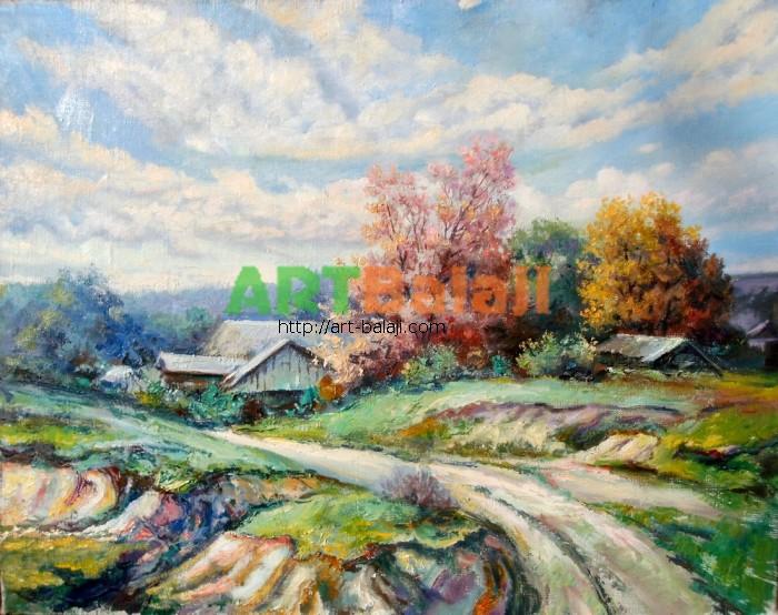 Artist Mycyk S.: Huts