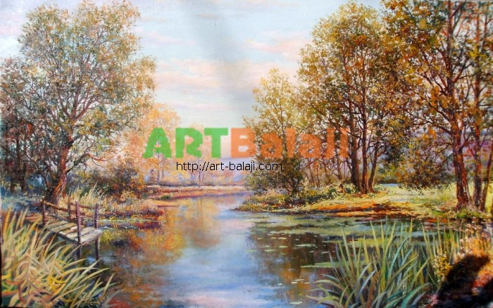 Artist Mycyk S.: River