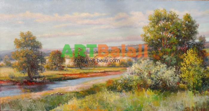 Artist Mycyk S.: Spring