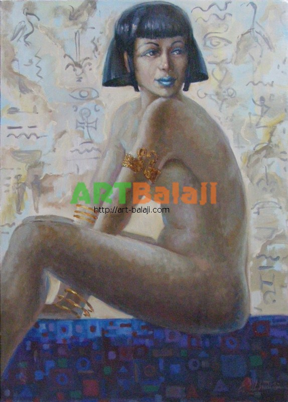 Artist Shvydkii A.I.: Princess of ancient civilizations
