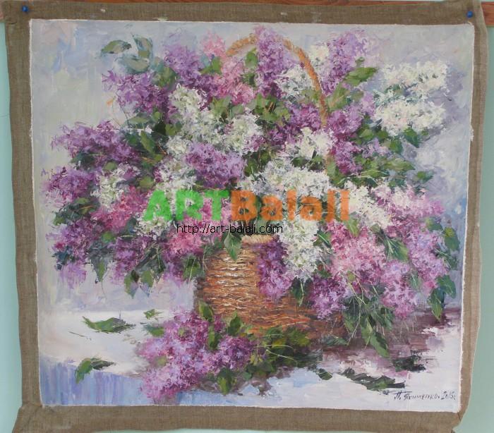 Artist Petr Yakimenko: Сирень цветет.